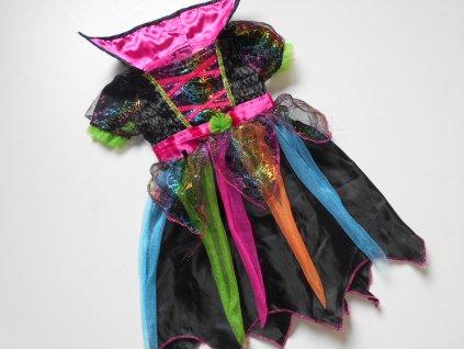 15233 maskarni kostym kouzelnice vel 80 92