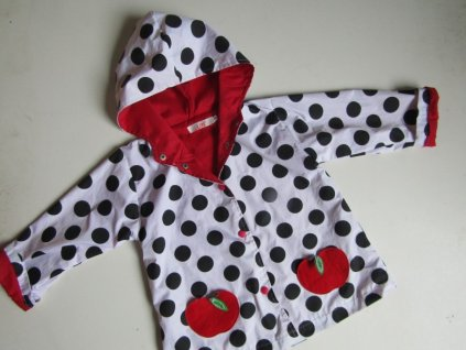Dívčí podzim/jaro kabátek... VEL-104-110