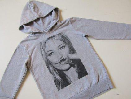 Dívčí mikina- LITTLE... VEL-122-128