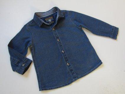 Chlapecká džínová košile- NEXT... VEL-80-86