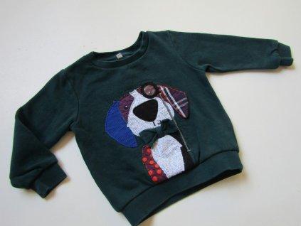 Chlapecká mikina- M&S... VEL-80-86