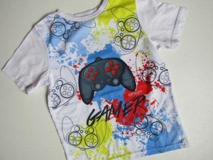 Chlapecké tričko- EMOJI... VEL-116-122