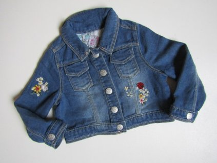 Dívčí džínová bunda- NUTMEG... VEL-80-86