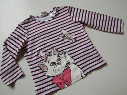 Dívčí tričko- H&M... VEL-80