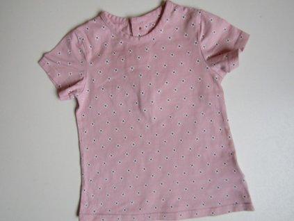 Dívčí tričko- M&S... VEL-86-92