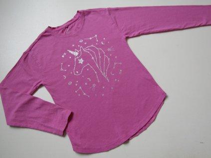 Dívčí tričko- CLATHING&CO... VEL-134