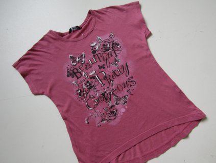 Dívčí tričko- GEORGE... VEL-122