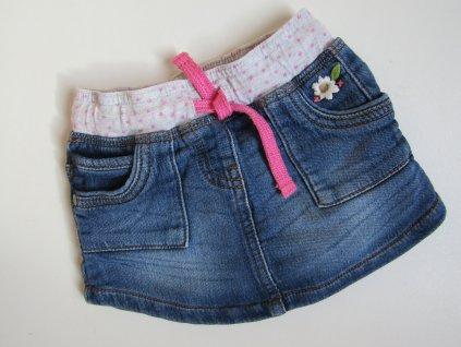 Dívčí džínová sukýnka- NEXT... VEL-74