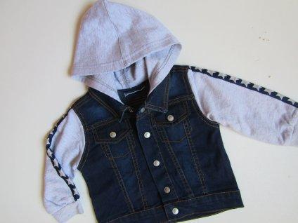Chlapecká džínová bunda- ERGEE... VEL-74