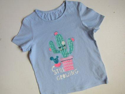 Dívčí tričko- M&S... VEL-116-122