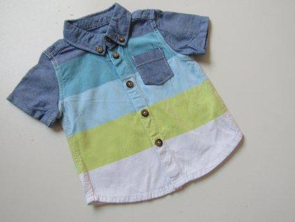 Chlapecká košile- F&F-NOVÁ... VEL-62-68