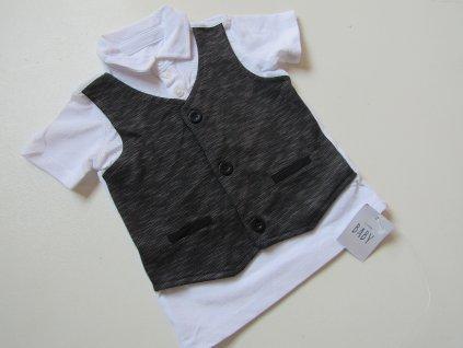 Chlapecké tričko- GEORGE-NOVÉ... VEL-74-80