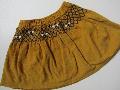 Dívčí manšestrová sukýnka- TU... VEL-110