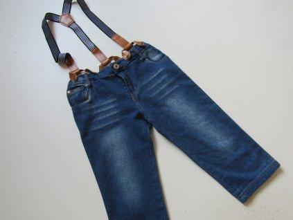 Chlapecké džínové kraťasy- ... VEL-128-134