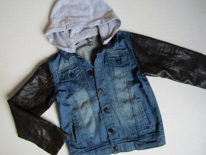 Chlapecká džínová  bunda ... VEL-134-140