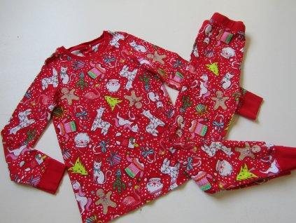 Dívčí pyžamo-NEXT... VEL-122-128