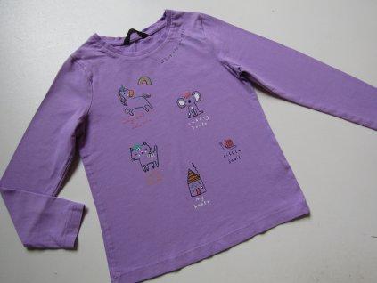 Dívčí tričko- GEORGE... VEL-110-116