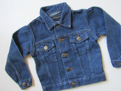 Dívčí džínová bunda- JEANS... VEL-98-104