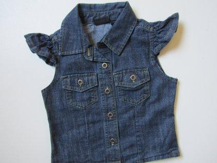 Dívčí džínová vesta- NEXT... VEL-92-98