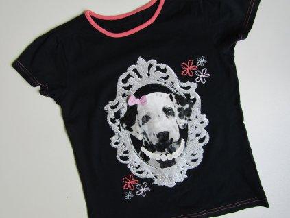 Dívčí tričko- GEORGE-NOVÉ... VEL-140-146
