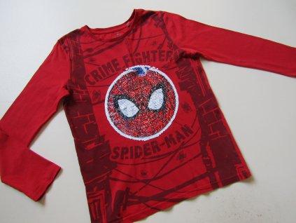 Chlapecké tričko s měnícím obrázkem-SPIDERMAN... VEL-140