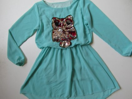Dívčí šaty... VEL-122-128
