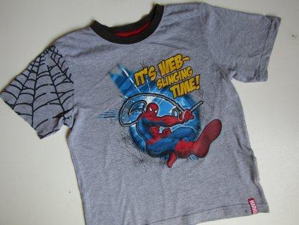 Chlapecké tričko- SPIDERMAN... VEL-140