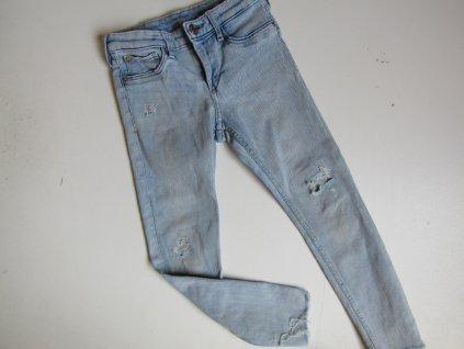 Dívčí elastické džíny- DENIM... VEL-122