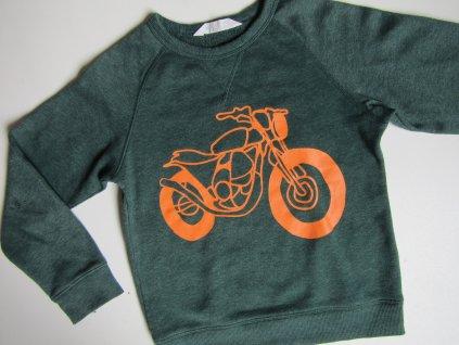 Chlapecká mikina- H&M... VEL-134-140