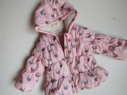 Dívčí zimní bunda-F&F.. VEL-74