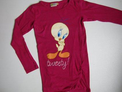 Dívčí dlouhé tričko- TVEEDY... VEL-134-140