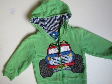 Chlapecká mikina-bunda-  TU ... VEL-92-98