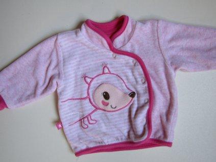 Dívčí podšitý  kabátek- BABY CLUB... VEL-68