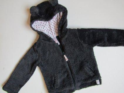 Dívčí chlupatá mikina- BABY... VEL-74