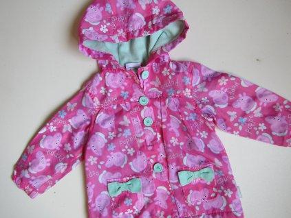 Dívčí bunda-podzim/jaro- PEPPA PIG... VEL-80-86