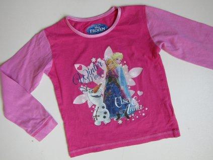 Dívčí tričko- FROZEN... VEL-98-104
