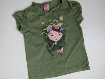 Dívčí tričko- KIKI&KOKO... VEL-98-104