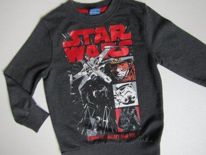 Chlapecká mikina- STAR WARS.. VEL-104-110