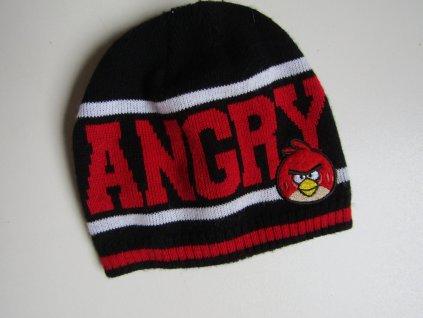 Chlapecká čepice-ANGRY BIRDS...VEL-92--98