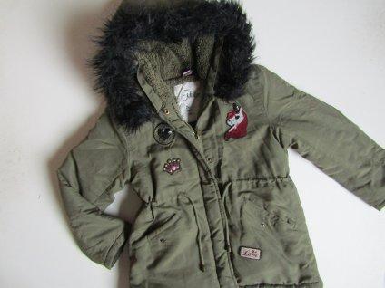 Dívčí zimní bunda- DOPODOPO... VEL-122-128