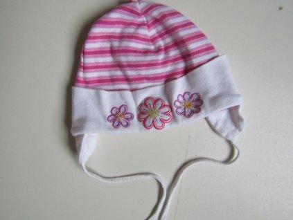 Dívčí bavlněná čepice... VEL-74-86