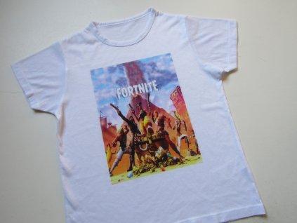 Chlapecké tričko- FORTNITE... VEL-140-146