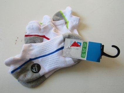 Chlapecké sportovní ponožky- PRIMARK-NOVÉ... VEL-23-26