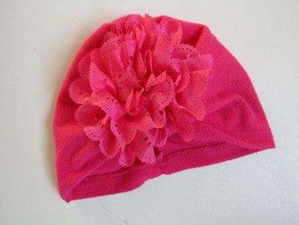 Dívčí čepice-turban... VEL-68-80