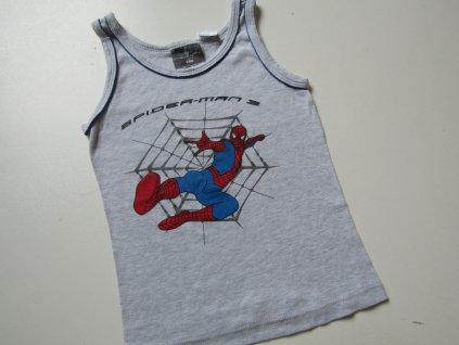 Chlapecké tílko- SPIDERMAN... VEL-122-128