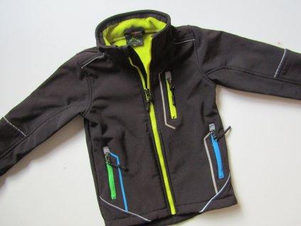 Chlapecká softshelová bunda- KUGO... VEL-98