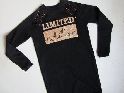 Dívčí mikinové šaty- PRIMARK... VEL-158-164