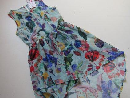 Dívčí šaty- H&M-NOVÉ... VEL-152