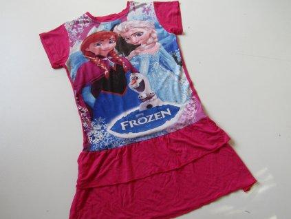 Dívčí slavnostní šaty- FROZEN... VEL-128-134
