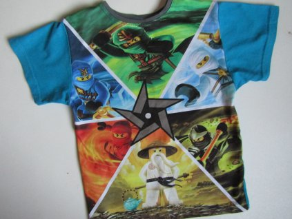 Chlapecké tričko- LEGO... VEL-134-140